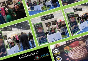 KQF exhibiting at Halal Food Festival 2013