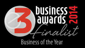 KQF - shortlisted for the E3 Business of the Year Award 2014.