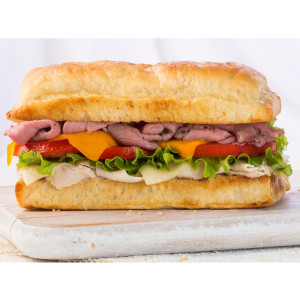 Quick Halal sandwich recipe