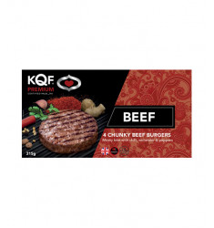 Chunky Beef Burger - Pack of 4