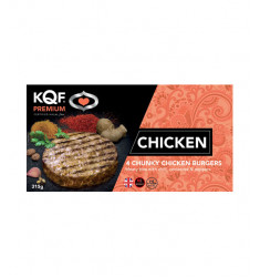 Chunky Chicken Burger - Pack of 4