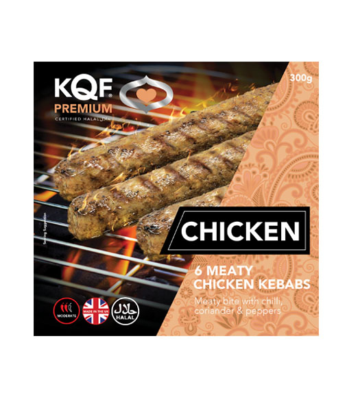 Classic Chicken Kebabs - Pack of 6