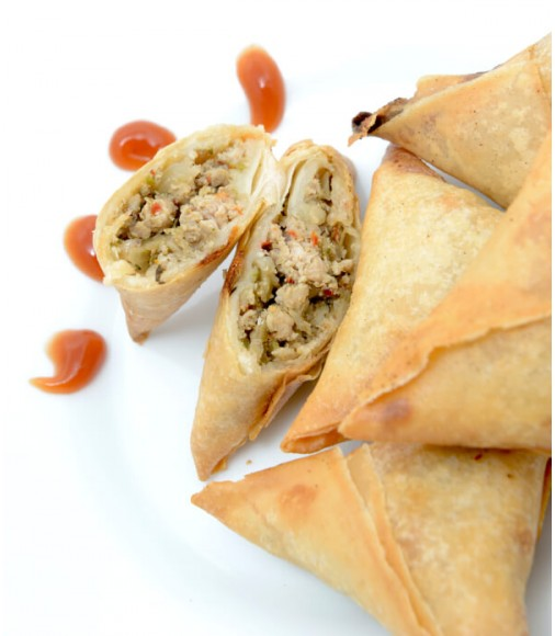 Chicken Samosas - Pack of 20