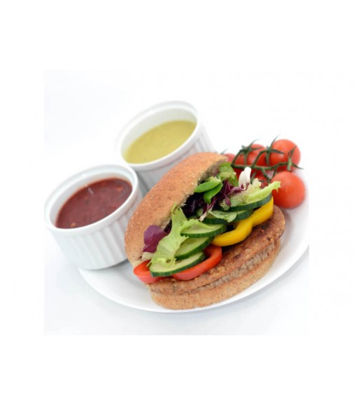 Spicy Texan Chicken Burgers - Pack Size 48